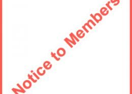 notice to members