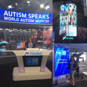 ACI's Elizabeth Attanasio Rings NASDAQ Closing Bell for Autism Awareness Month